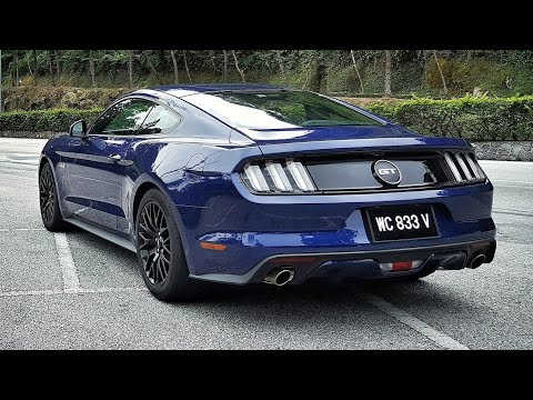 Review V8 Mustang Gt 5 0 Via Ford Malaysia Youtube