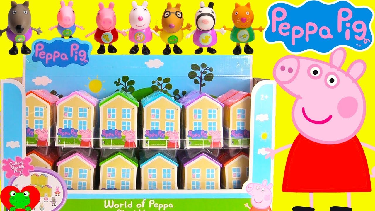 Peppa Pig Surprise Houses Youtube