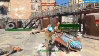 Летающая тарелка в Fallout 4