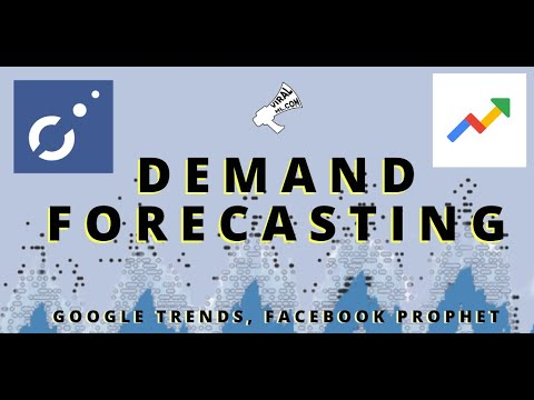 Forecasting Demand, Finding Sales Data - Facebook Prophet, Google Trends & Python