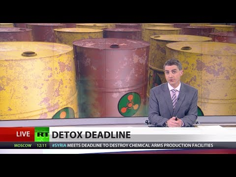 Timely Destruction: All Syria's chemical weapons production lines taken out
