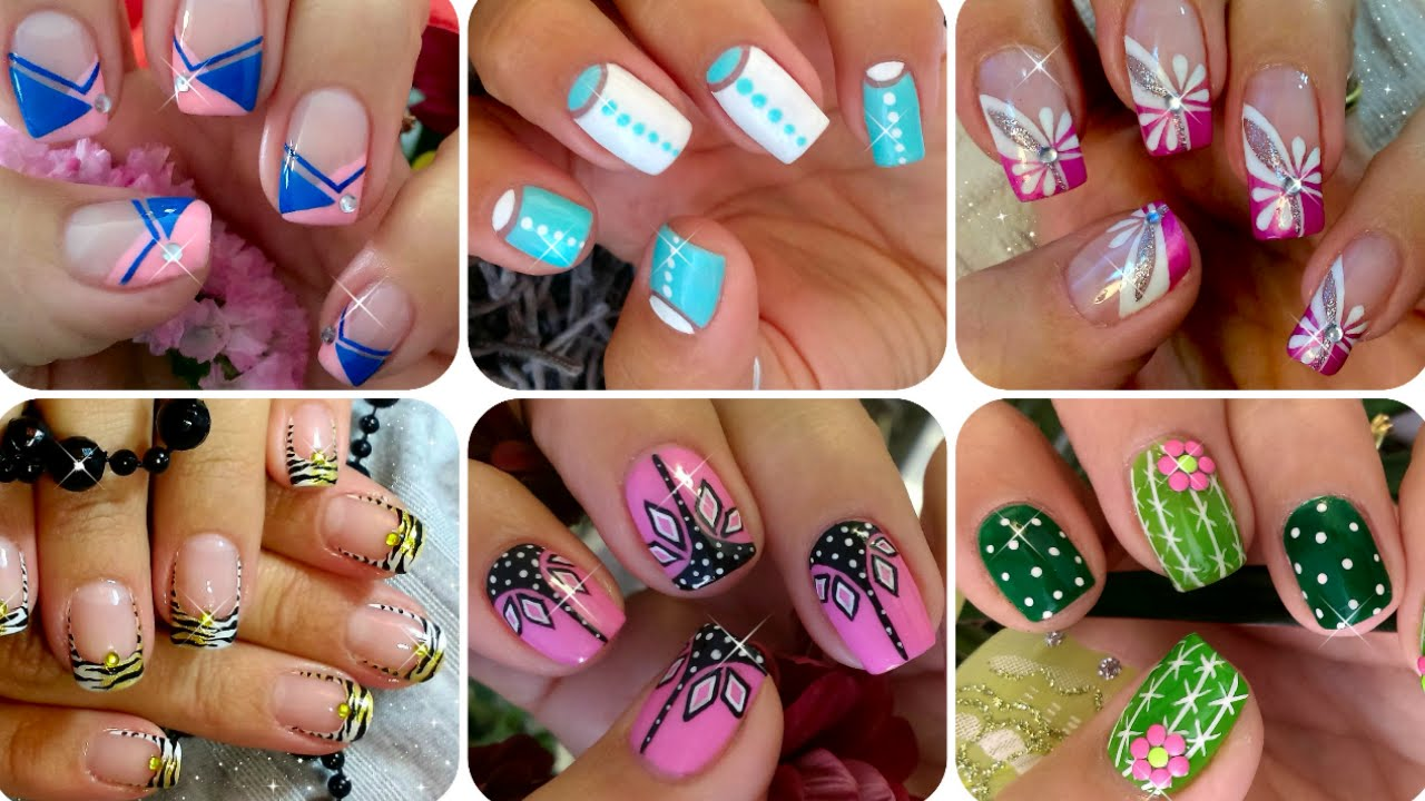 nail art compilation compilacin dseo de uas youtube sciox Image collections