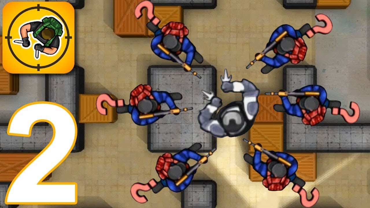 HUNTER ASSASSIN – Walkthrough Gameplay Part 2 – LEVELS 31-55(iOS Android)
