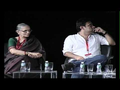 Artists Row 2 - Indian Artists at THiNK 2011. Second Session