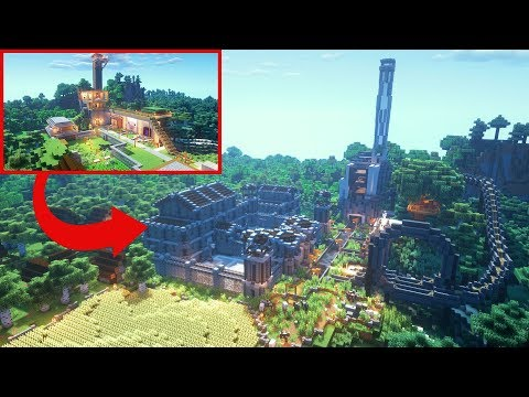 Transforming Muselk's Minecraft Base