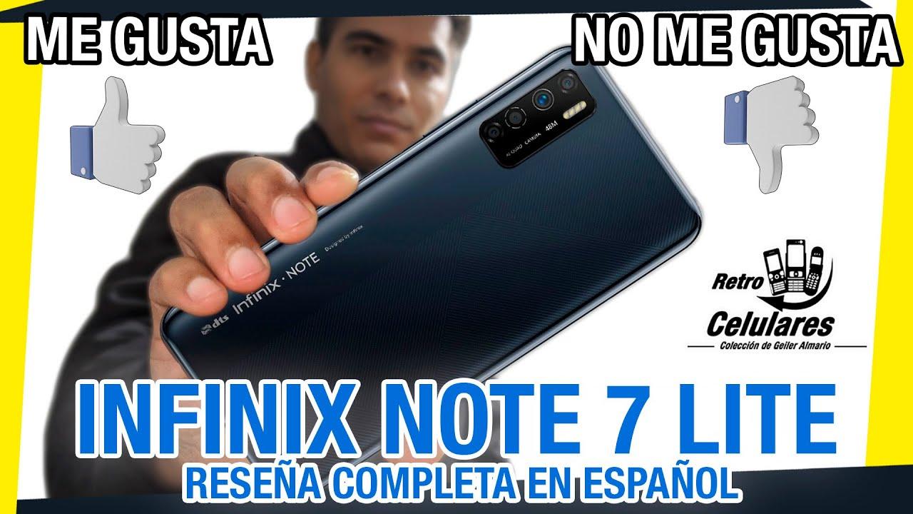 👍Me GUSTA 👎no Me gusta | INFINIX NOTE 7 Lite | Review del celular en Español | Retro Celulares & Más
