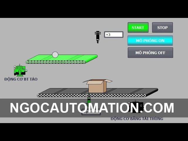 Hướng dẫn lập trình băng chuyền sản phẩm trên TIA Portal và PLC S71200