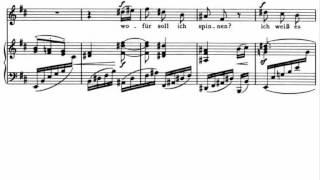 Brahms, Mädchenlied, op. 107 n. 5 (1887)