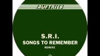 S.R.I - Songs To Remember (Joachim Spieth Remix) - Auftrieb