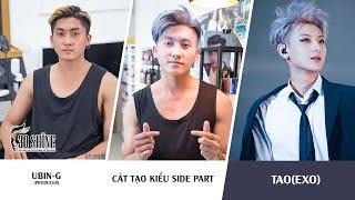 Cắt tạo kiểu Side Part | Phong cách TAO (EXO) | Ubin-G