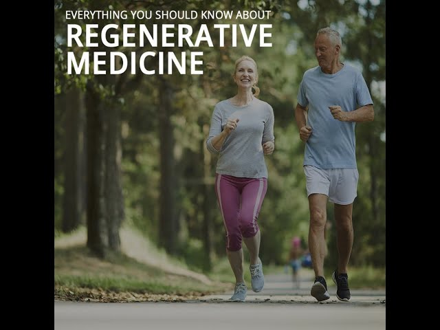 Everything You Need to Know About Regenerative Medicine Presented by Greenberg Regenerative Medicine