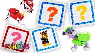Paw Patrol Toys & Vehicles Color Change Matching Game!