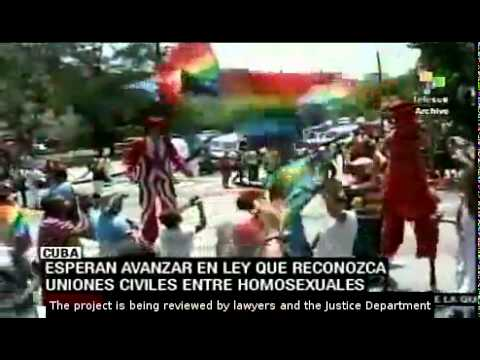 Cuba to allow homosexual civil unions