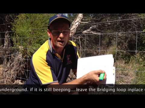 How to find a break in dog fence wire