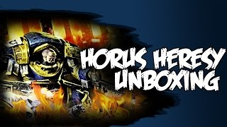 Horus Heresy Unboxing Betrayal at Calth