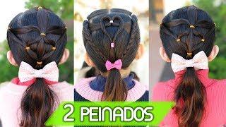 Peinados faciles para niña para la escuela