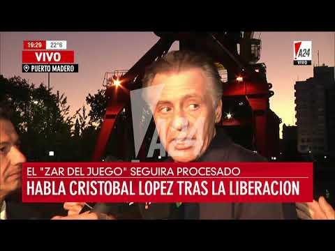 Declaraciones Cristobal López