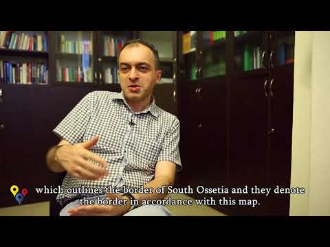 Tornike Sharashenidze, political scientist and military expert