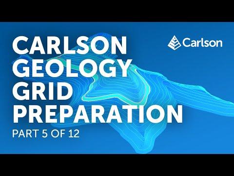 Carlson Geology   Grid Preparation (Part 5/12)