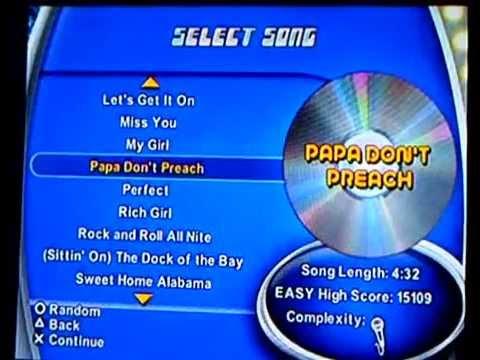 karaoke revolution vol 02 (full song list)