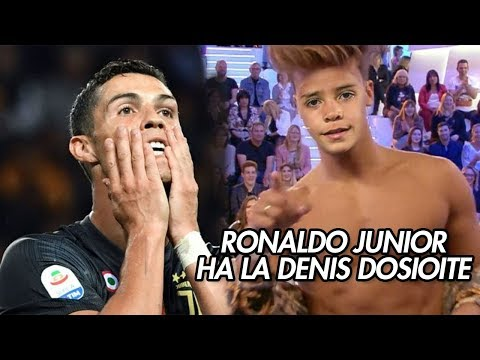 RONALDO JR HA LA DENIS DOSIOITE   CR7 COMMENTA DENIS DOSIO  