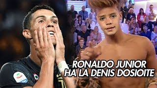 RONALDO JR HA LA DENIS DOSIOITE | CR7 COMMENTA DENIS DOSIO |