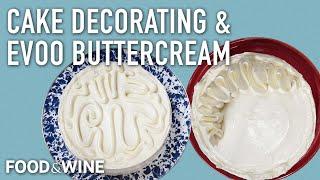 Easy Cake Decorating with EVOO Swiss Meringue Buttercream | Bronwen Wyatt | Chefs At Home