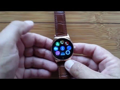 RWATCH R11 Smartwatch Unboxing and First Look