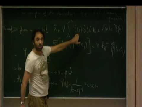 Cambridge short lecture 4-Holcman - Generalized Langevin equations