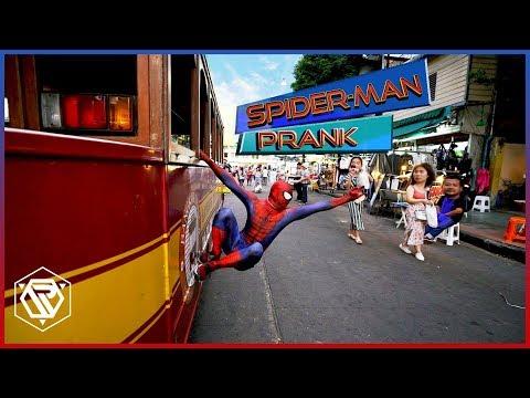 Spider-Man ป่วนเมืองในชีวิตจริง(Prank) RAMER EP.61