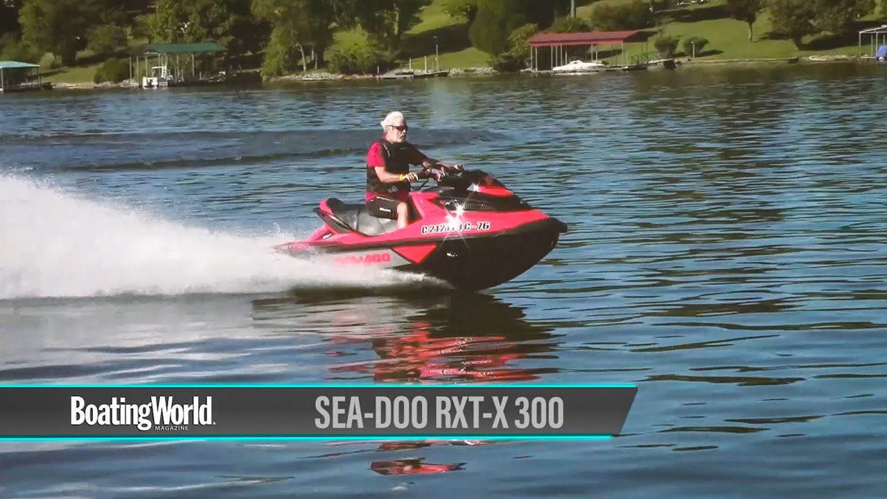 Sea-Doo RXT-X 300 – PWC Review