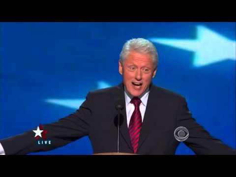 "Clinton: ""Arithmetic"" created surplus budgets"