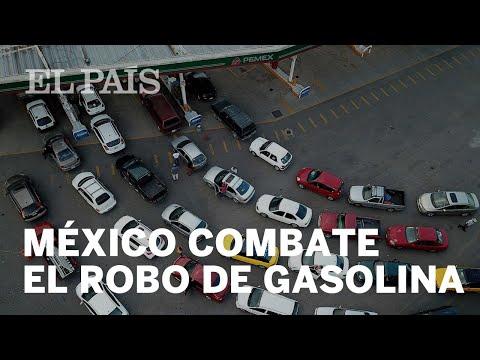 El Gobierno de López Obrador combate el robo de combustible en México