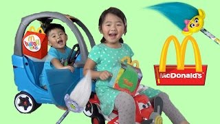McDonald's Trolls Happy Meal and Toys Surprises