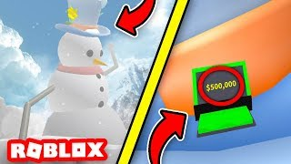 WHATS ON TOP OF FROSTY?⛄ *REWARD?* | Snow Shoveling Simulator ROBLOX❄️
