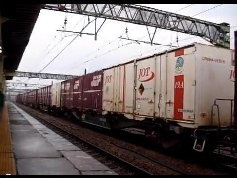 高速貨A4061 新津駅発車 Freight liner-A4061 Dep. Niitsu Sta.