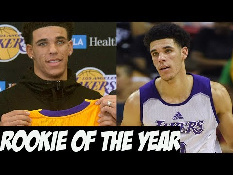 Why Lonzo Ball Will Be The 2018 NBA Rookie of The Year