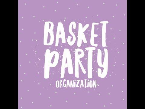 Scentsy Basket Party Organization