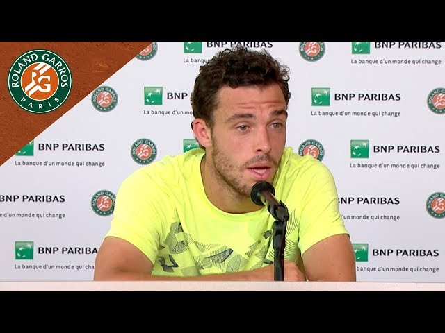 Marco Cecchinato - Press Conference after Semi-Final I Roland-Garros 2018