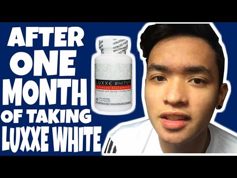 LUXXE WHITE AFTER A MONTH RESULT | Yam Cempron