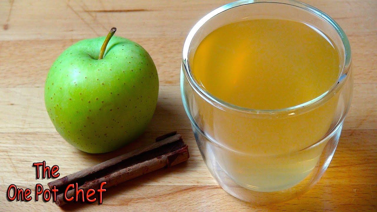 Quick Tips: Apple Tisane (Caffeine Free Herbal Tea) | One Pot Chef