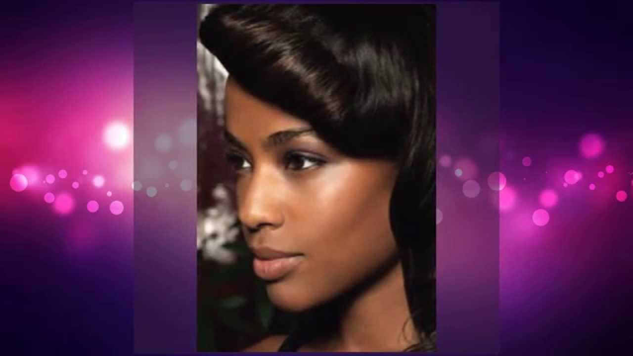 Asymmetrical Short Hairstyles For Black Women
