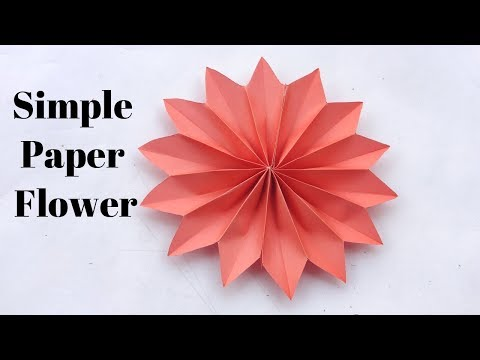How To Make Flower Out Of Paper - Easy!