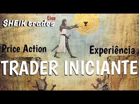 TRADER INICIANTE : Price Action e Experiência.
