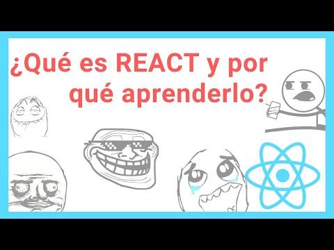 Que es REACT JS ☢️ y POR QUE aprenderlo - [Tutorial React js] ESPAÑOL #1 thumbnail