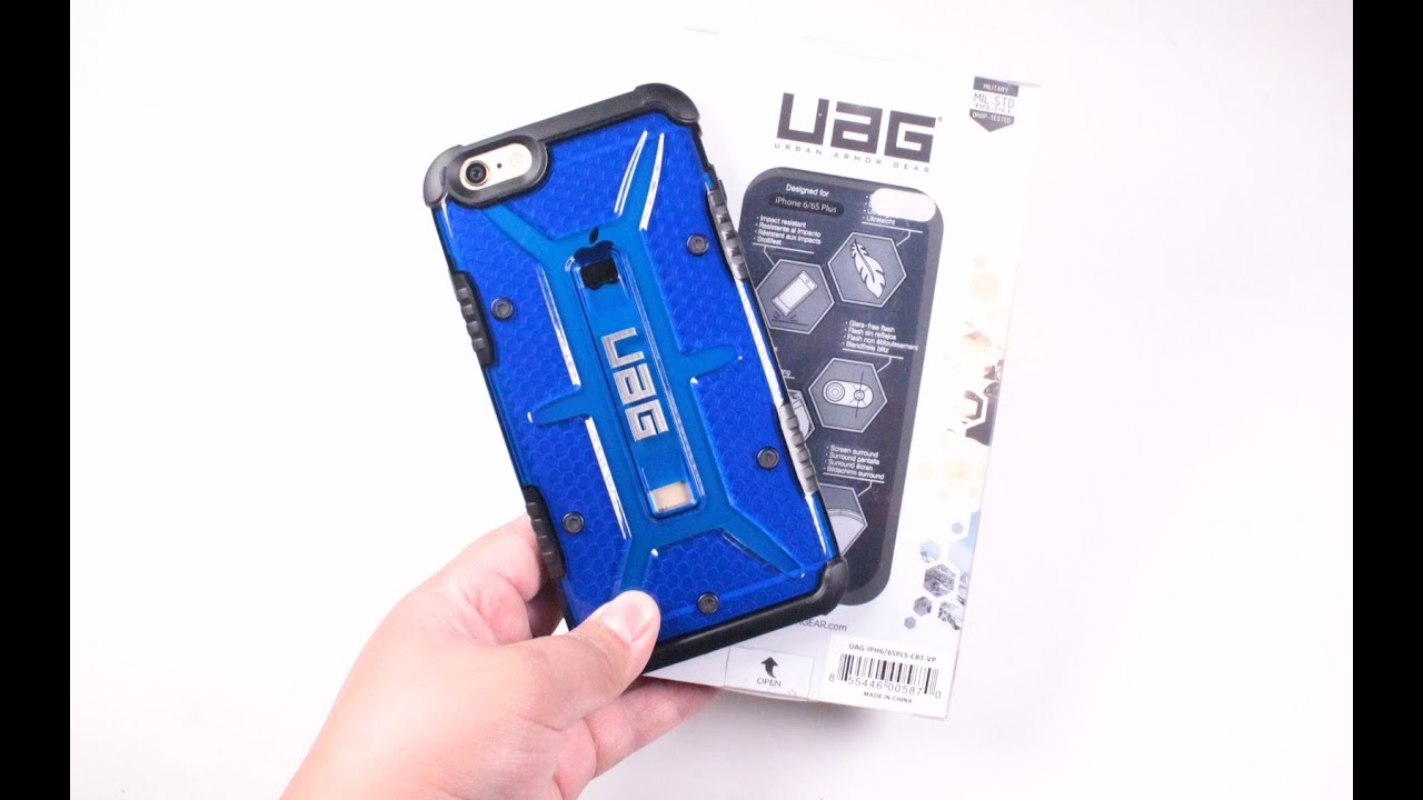 timeless design 085f3 0ac33 UAG Cobalt Case For The Apple iPhone 6s Plus & 6 Plus Review!