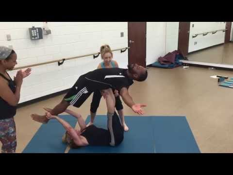 Partner Yoga - building trust and strength