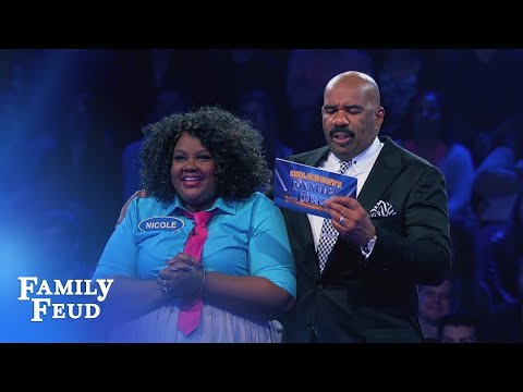 Funny Gals Fast Money! | Celebrity Family Feud