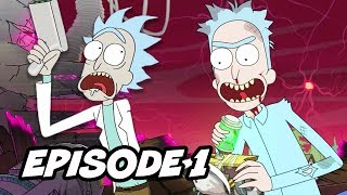 rick and morty season 3 episode 1 explained and easter eggs