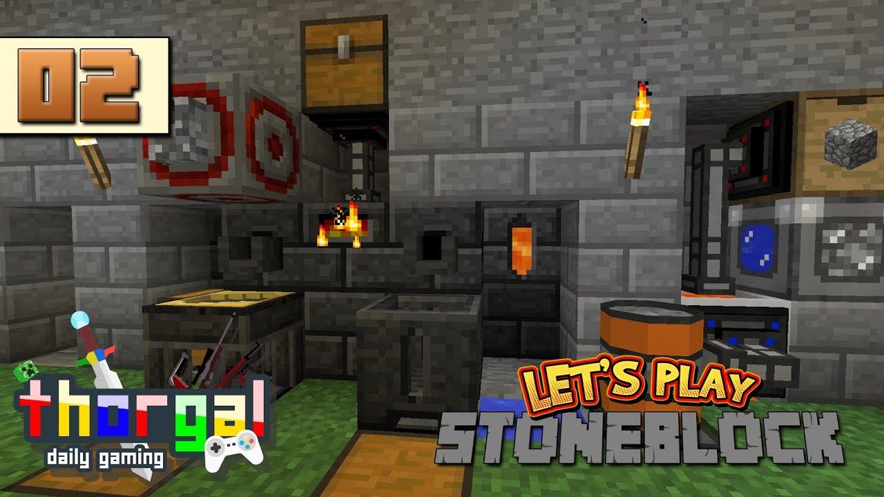 Stoneblock 2 End Ores